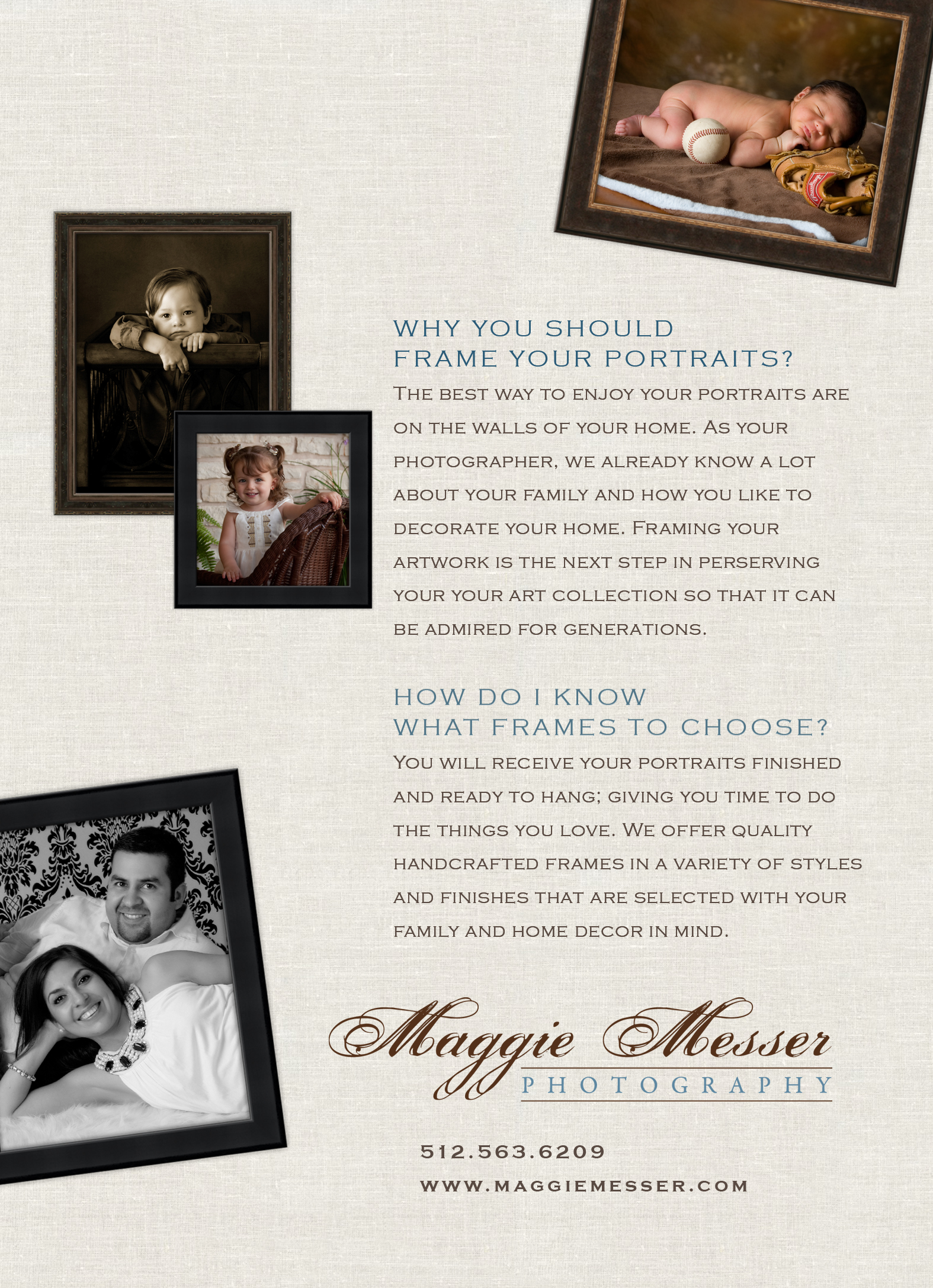 Maggie Messer Photography Framing Back