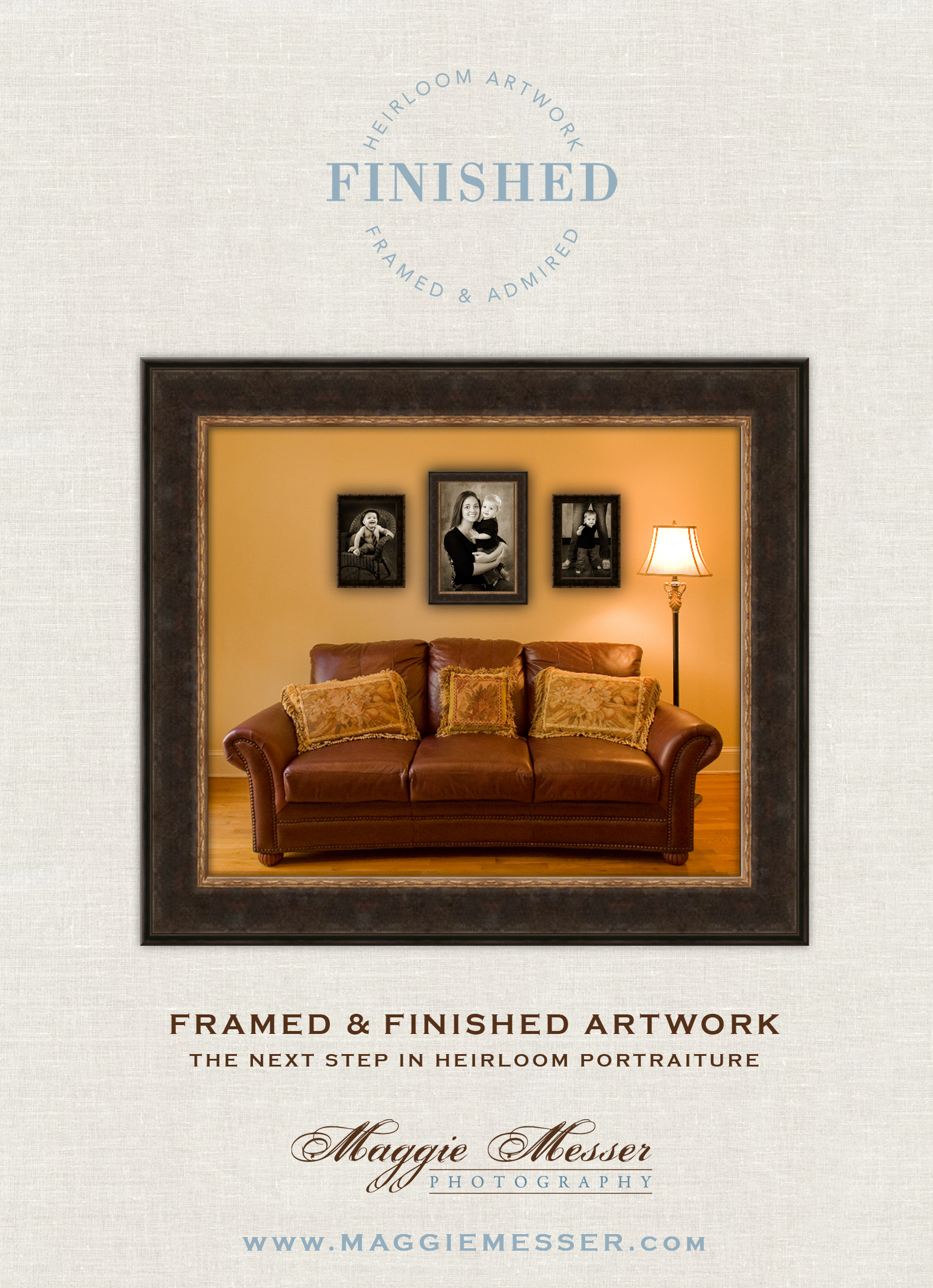 Maggie Messer Photography Framing Front
